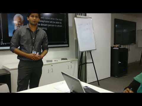 Ankit - Table Topics #51 AIG Toastmasters Bangalore