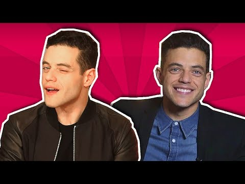 rami malek being insanely attractive for 9 minutes straight