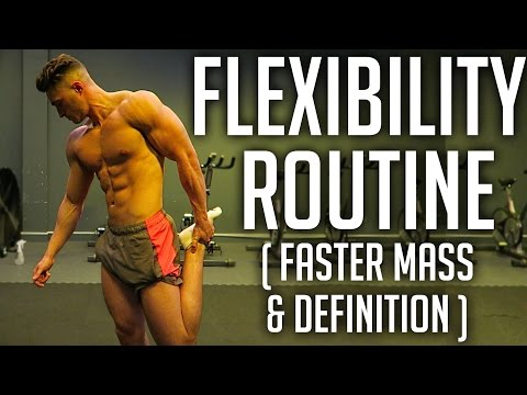 Stretch Routine for Flexibility (posterior chain)