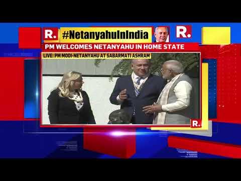 Highlights of PM Modi-Netanyahu's visit at Sabarmati Ashram