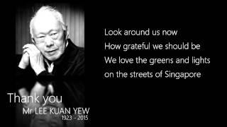 Thank You Mr Lee Kuan Yew