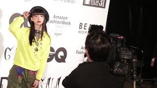 26日、第31回東京国際映画祭2日目に、六本木ヒルズアリーナのレッドカーペットにてGQ JAPANとBEAMSがプロデュースするファッションショー「FASHION GALA」が行 ...