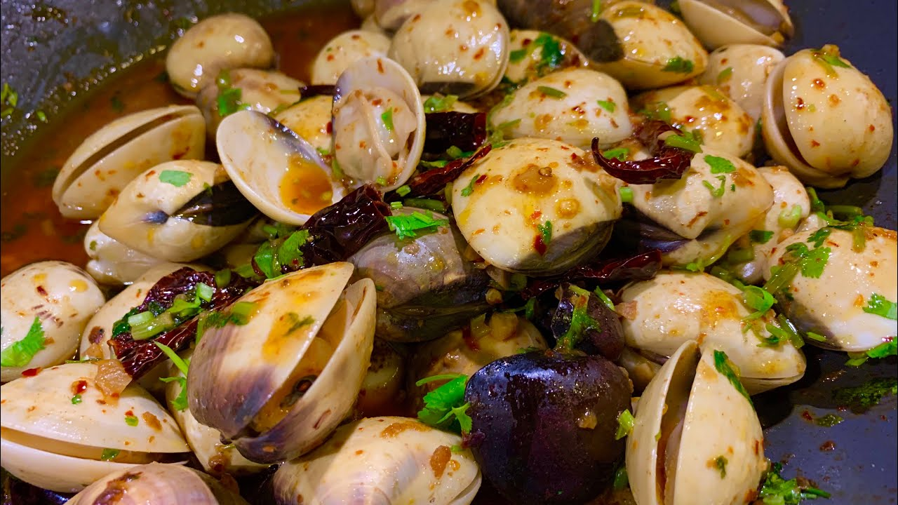 Cara Paling Simple Buat Spicy Garlic Clams