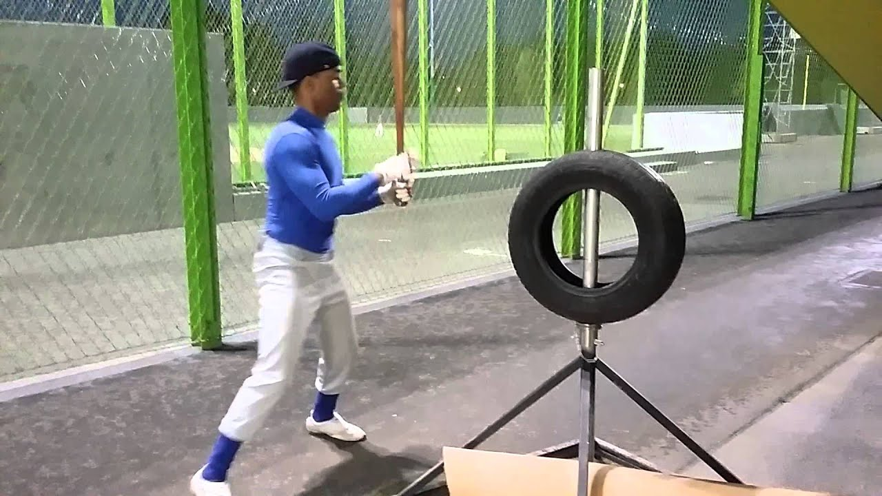 hitting tire drill - YouTube