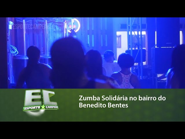 Zumba Solidária no bairro do Benedito Bentes