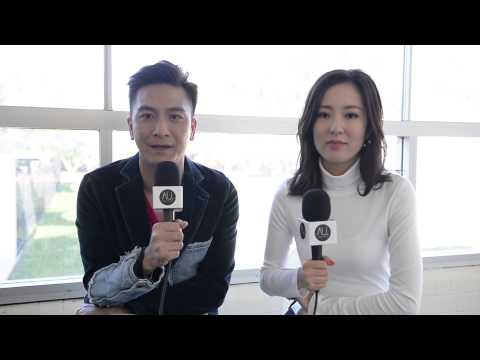 Kenneth Ma and Natalie Tong (Hong Kong) TVB Interview in Sydney