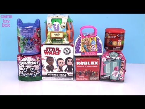 PJ MASKS DOORABLES Barbie Surprise TOYS UNBOXING Roblox Mashem Toy KIDS Fun