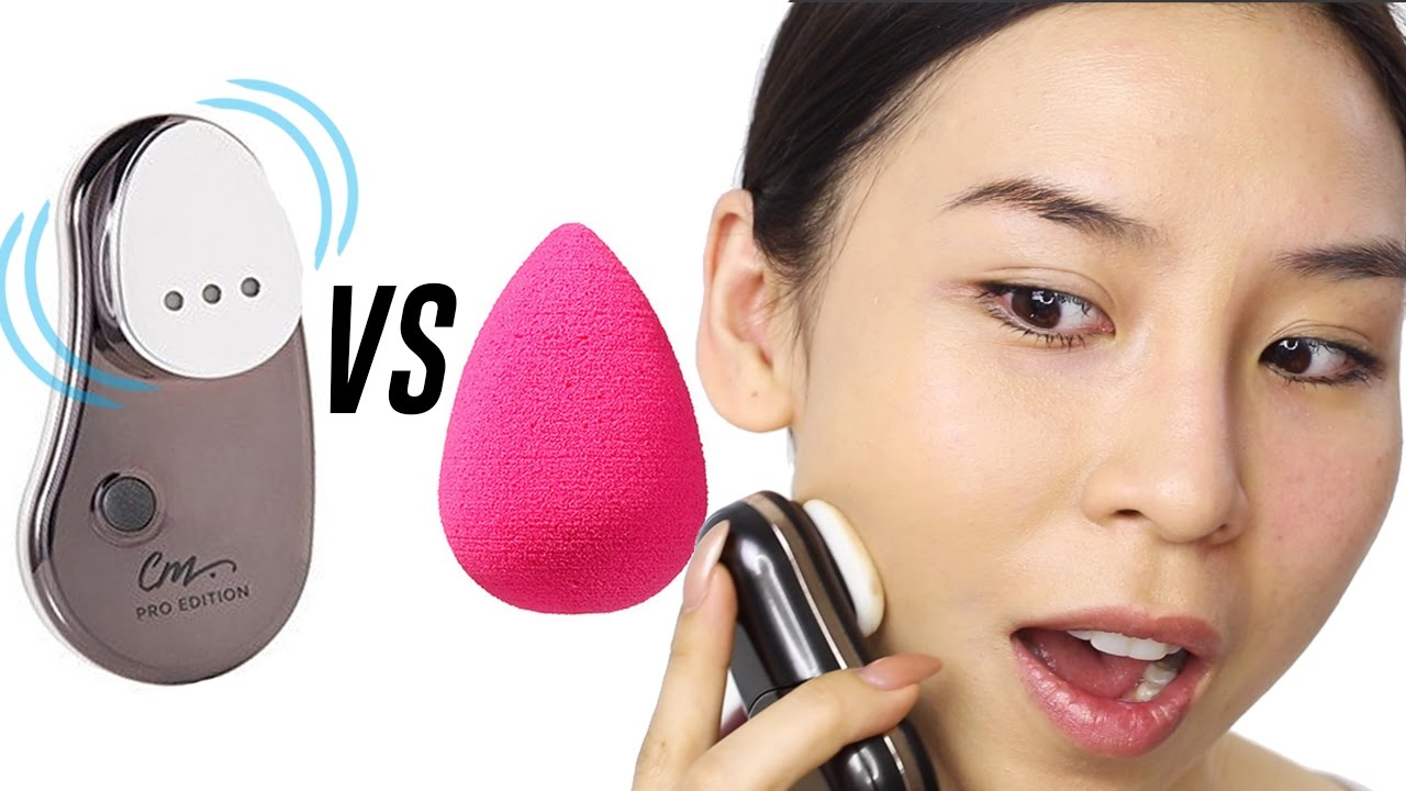 VIBRATING MAKEUP SPONGE VS BEAUTY BLENDER || TINA TRIES IT ...