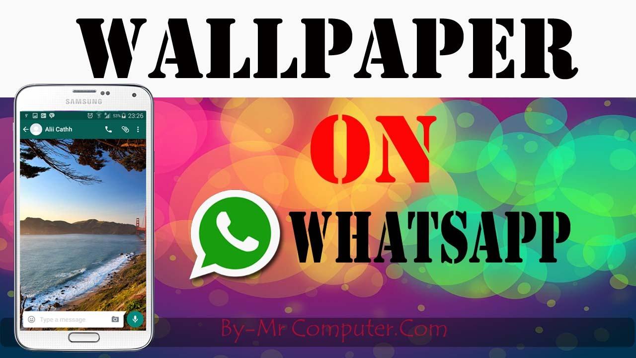 set walpeper on whatsapp|| in hindi punjabi 2016 - youtube