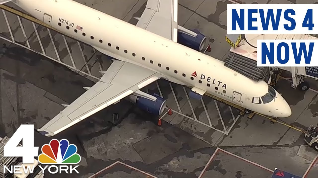 NEW YORK CITY, WHITE PASSENGER TRIES TO OPEN PLANE DOOR MID-FLIGHT
