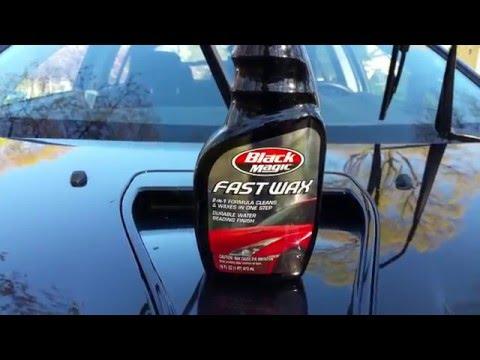 REVIEW Black Magic Fast Wax Spray