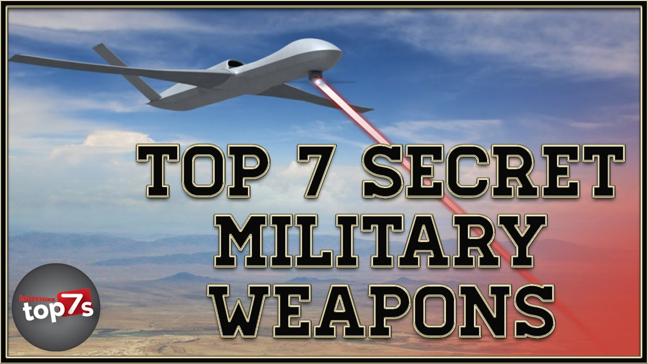 Top Usa Weapons Secret