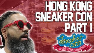 Sneakercon Hong Kong pt 1 (I bought off white 1's!)