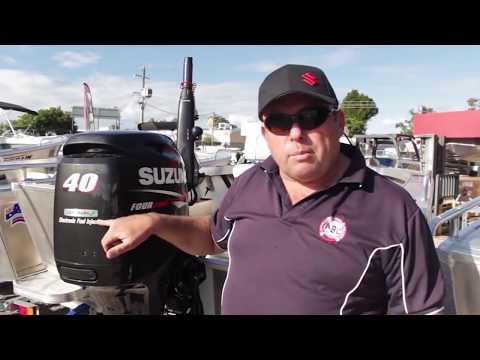 2 Stroke vs 4 Stroke SUZUKI 40hp vs 30 hp Four Stroke vs 2