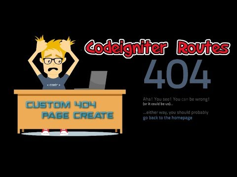 Learn Codeigniter Tutorial In Tamil For Beginners Part 5 Routes & Resolved  404 error