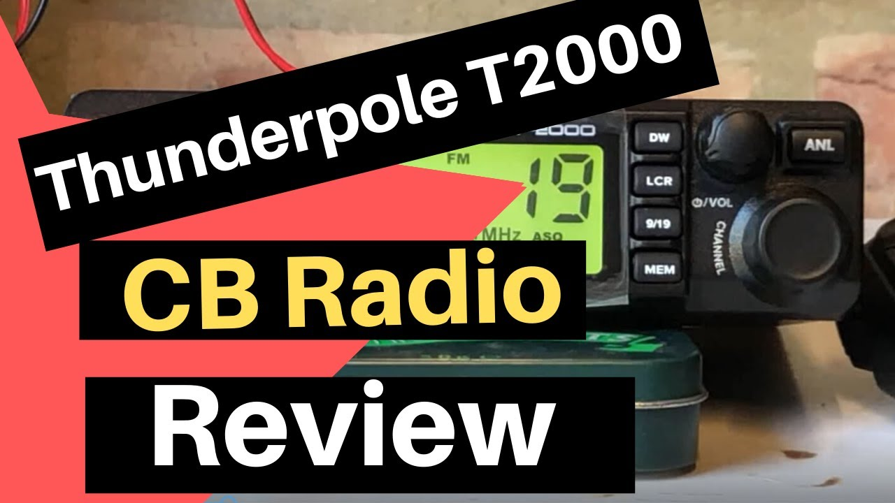 THUNDERPOLE Radio CB T-2000.