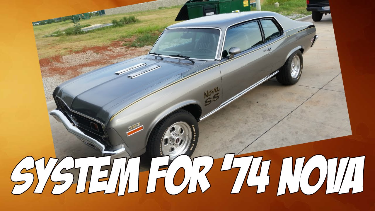 Stereo System In 1974 Nova Classic Car Audio Youtube