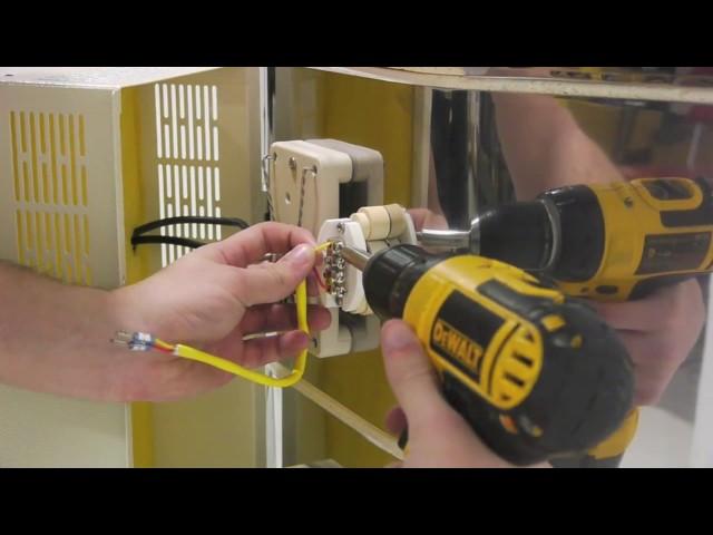 エルエルキルン K型センサー(熱電対)の交換