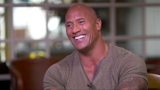 Moana | Dwayne Johnson on Singing, Shedding