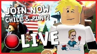 ROBLOX LIVESTREAM! | HAPPY NEW YEAR! | Minigames & More!