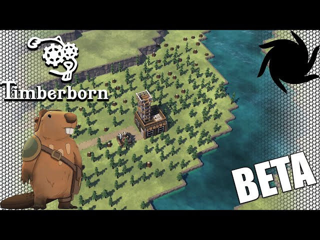 Timberborn Beta - Fancy Beavers - Watching The Trees Grow