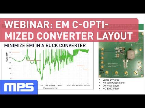 Webinar: EMC Optimized Buck Converter Layout