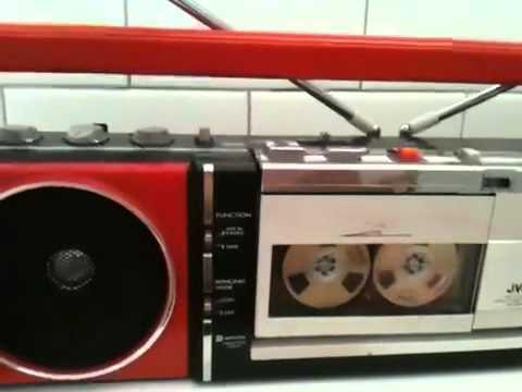 Jvc Rc S55l Stereo Radio Cassette Recorder Boombox Boom