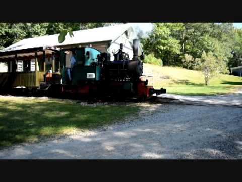 Maine Narrow Gauge 0-4-0  Henschel steam Locomotive
