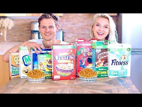 Выбираем Лучшие Кукурузные Хлопья! Corn Flakes Challenge!