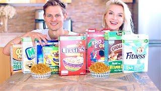 Выбираем Лучшие Кукурузные Хлопья! Corn Flakes Challenge!(, 2016-08-07T06:16:47.000Z)