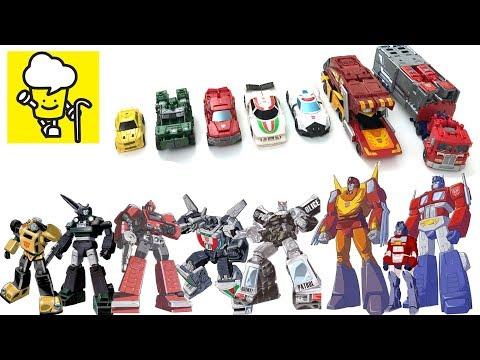 Transformers G1 Power Of The Prime Optimus Prime Orion Pax Bumblebee Rodimus Prime 變形金剛
