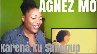 Agnez Mo - Karena Ku Sanggup | MV REACTION