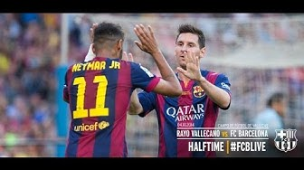 Rayo Vallecano Vs FC Barcelona 0-2    04/10/14    La Liga 14/15    HD    7CRLM10   
