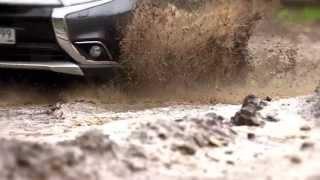 New Mitsubishi Outlander: Тест-драйв в программе