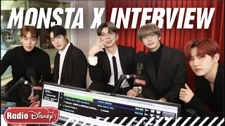 Monsta X wants Megan Lee to come on tour with them! | Radio Disney