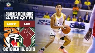 UST vs. UP - October 16, 2019  | 4th Quarter Highlights | UAAP 82 MB