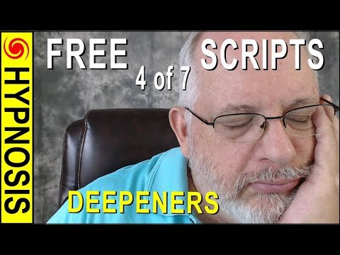 Hypnosis SCRIPT Writing Course: Video 4 of 7 - Deepeners