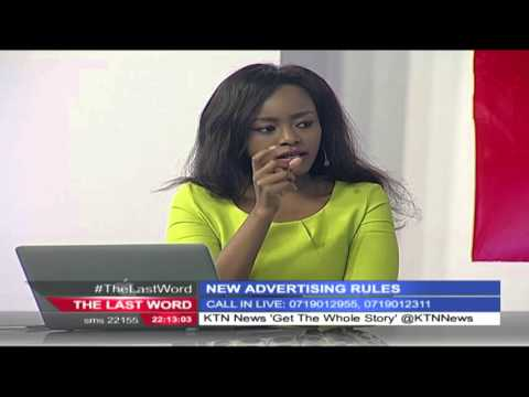 The Last Word 19th April 2016: New advertising rules (Part 1)