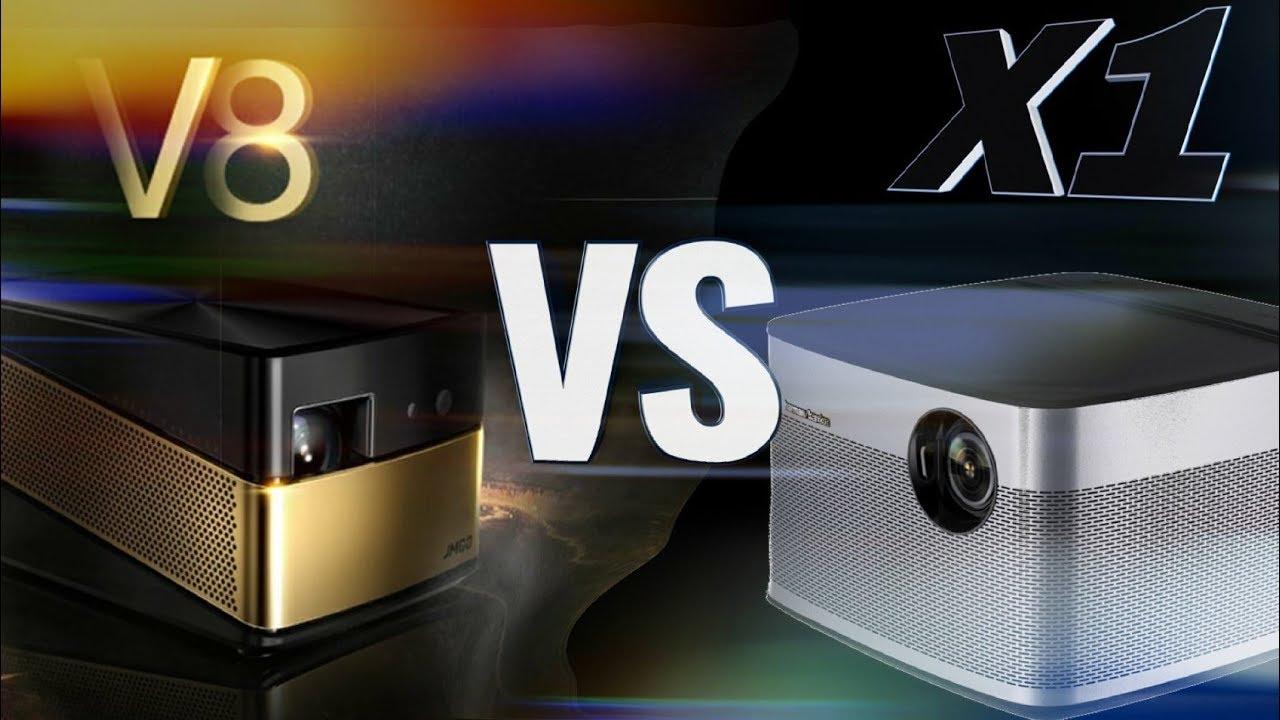 Jmgo V8 Vs Xgimi H1 Harman Kardon Projector Comparison