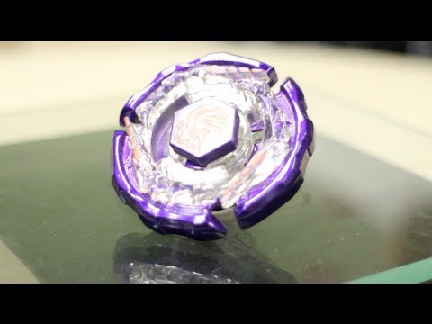 Purple Ray Striker/Unicorno D125CS AURORA LIMITED VER. Unboxing & Review! - Beyblade Metal Fight