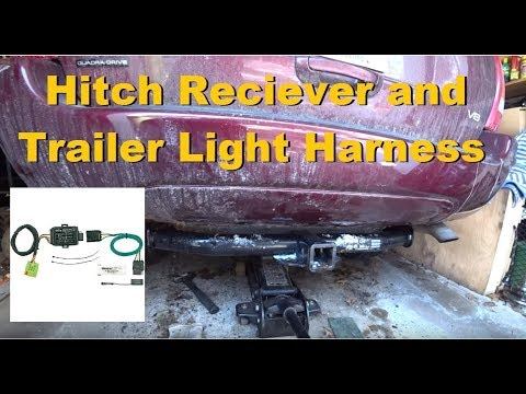 99-04 Grand Cherokee Trailer hitch and Wiring Harness Install on