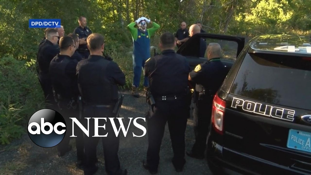 Massachusetts Police Release Hilarious Video Warning Against Clown Activity