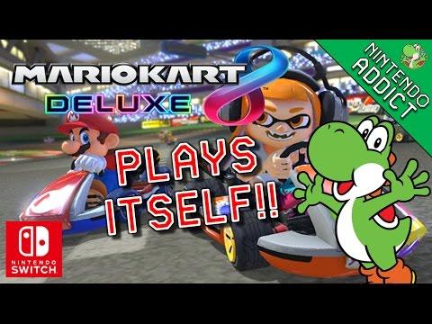Mario Kart 8 Plays Itself | All Courses 200cc Smart Steering Comparison | Mario Kart 8 Deluxe