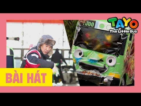 Bài hát mở đầu Tayo (cửa hàng sửa chữa ô tô) l bài hát cho trẻ em l Tayo xe buýt nhỏ