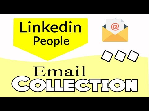 how to collect email address from LinkedIn profile । Lead generation Bangla tutorial