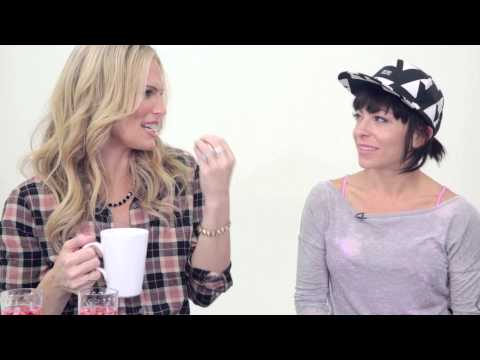 KymNonStop chats healthy tips with Everyday Supermodel Molly Sims!