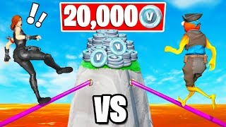20.000 VBUCKS Deadly DEATHRUN Challenge (Creative Fortnite)