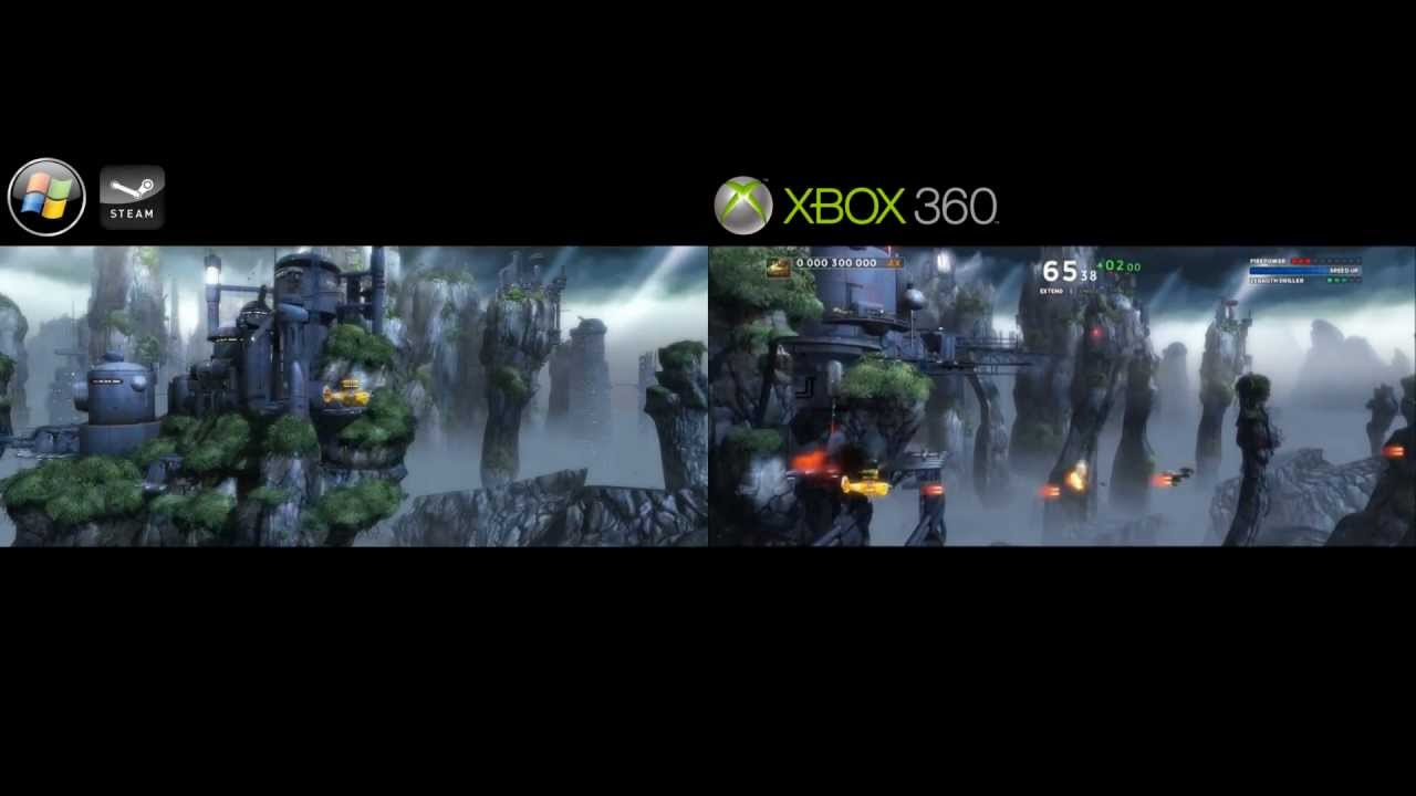 Sine Mora  Xbox 360 Vs PC 4K video file  YouTube