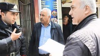 Qız Atası Bakının Mərkəzində Övladına Qarşı Olan Haqqsızlığa Üsyanı Elədi