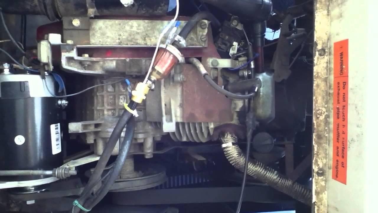 Melex Gas Golf Cart Wiring Diagram Trailer Socket 1996 512g Maintenance Youtube